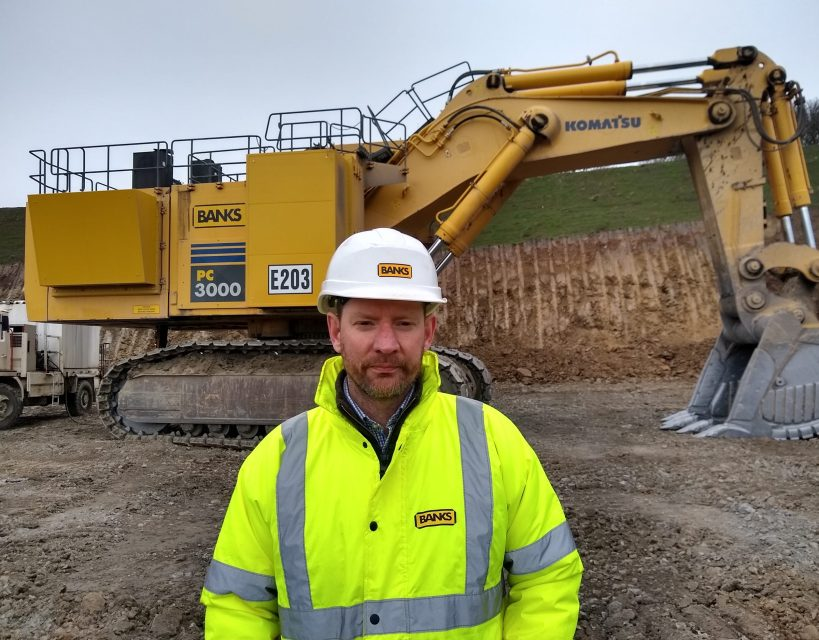 Six figure investment in new equipment for County Durham's Banks Mining