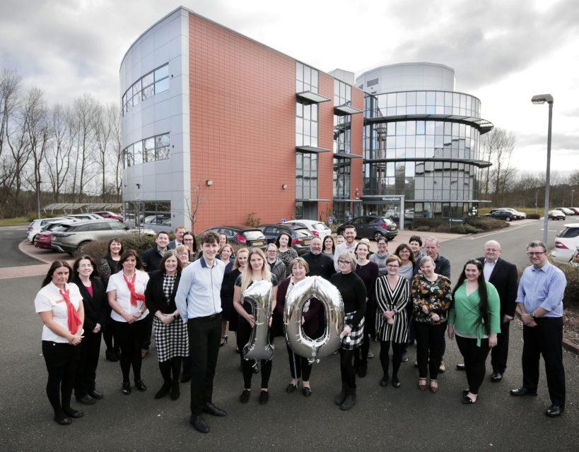 Business centre celebrates 10th anniversary