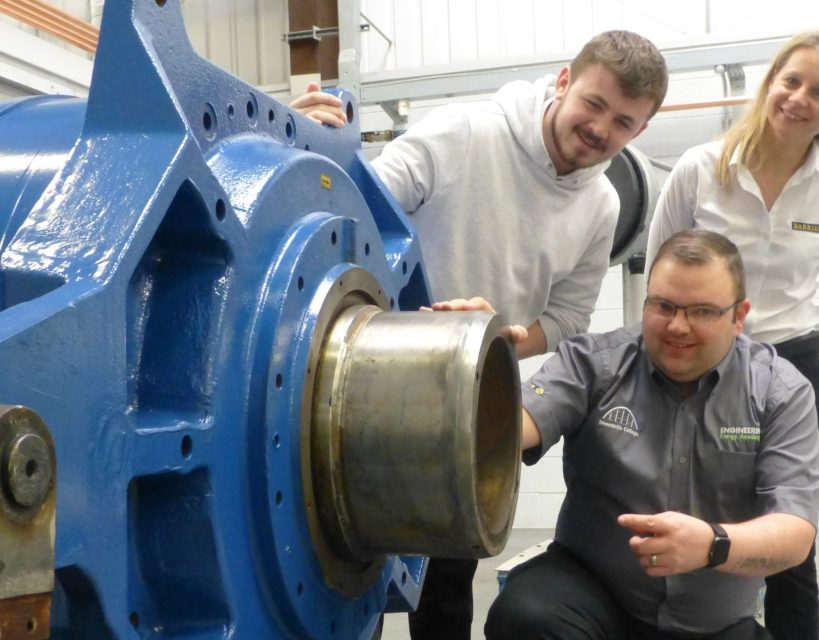 Wallsend company partners with Newcastle College to deliver work-ready students for industry