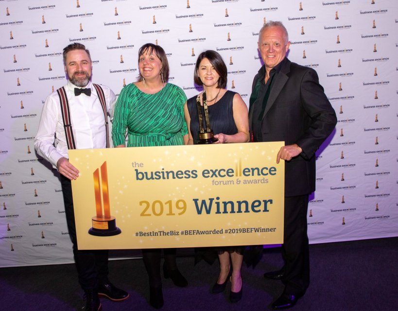 North East business coach helps manufacturing client win prestigious award