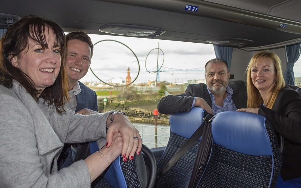 Stockton coach hire firm secures national transport contract