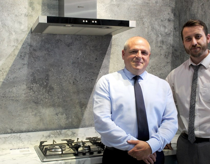 Bathroom and kitchen surface manufacturer announces key appointments