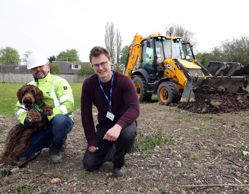 Haulage and plant hire firm supports charity's plans for future growth
