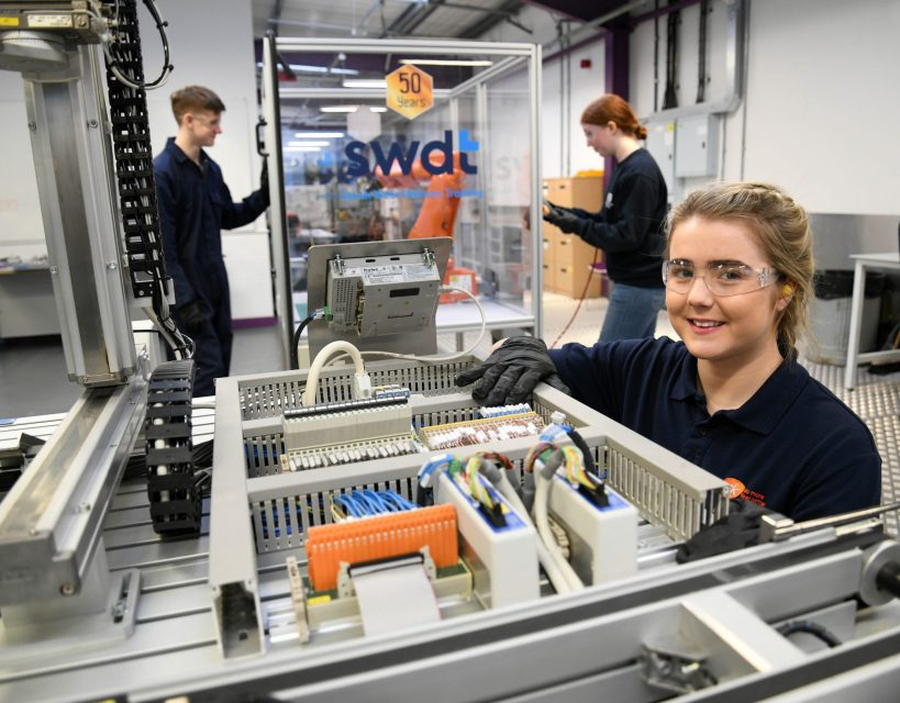 Engineering and manufacturing firms support future talent jobs fair