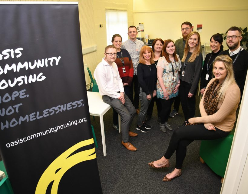 Homelessness charity offers warm welcome thanks to £3,000 NBS donation