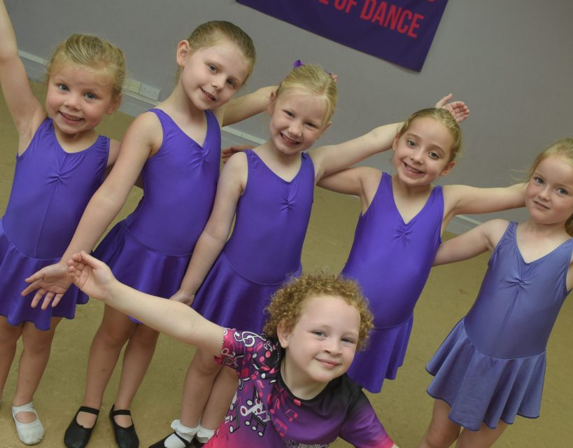 Young dancers prepare for international festival