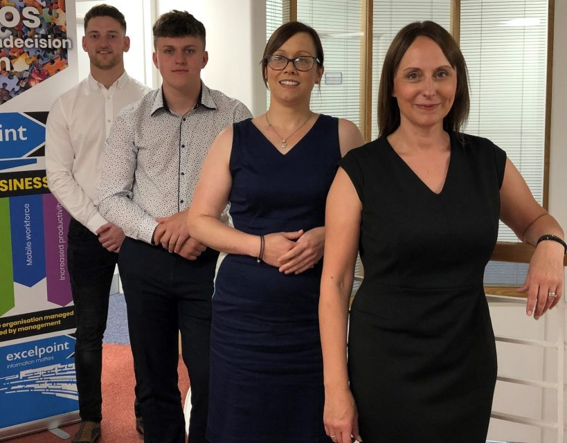 Software company announces four new appointments