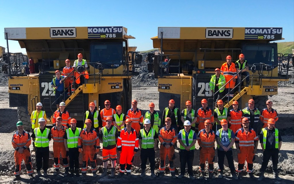 Half a million cheers for staff at Cramlington surface mine