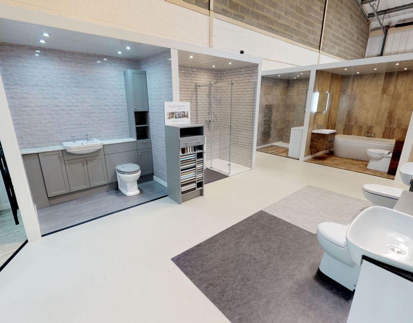 Cladding firm opens fourth North East bathroom showroom