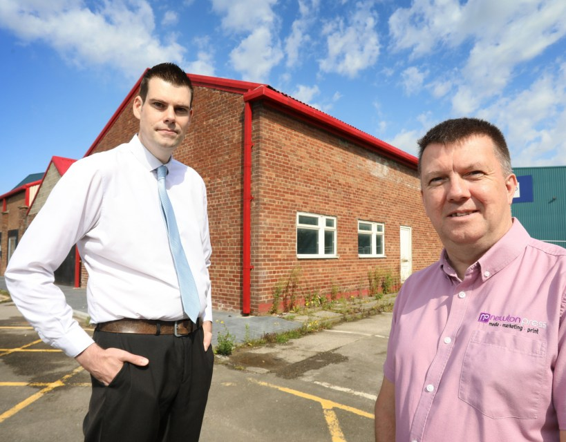 Family print company converts former premises into business units