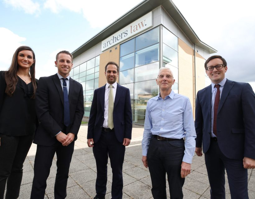 Growth for leading Teesside law firm as it celebrates corporate team success