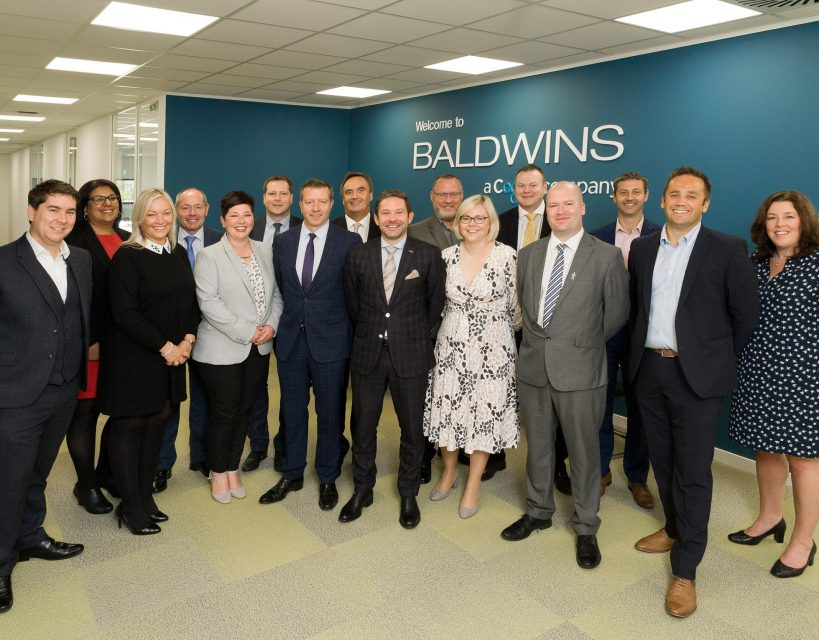 Baldwins commits to the region with investment in 12,000 square foot Durham office