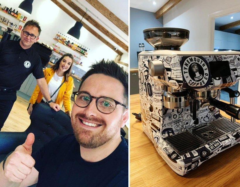 Tynemouth Coffee celebrates birthday with collaboration