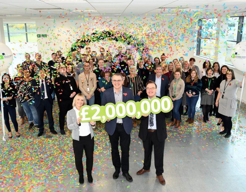 Newcastle Building Society celebrates £2m charitable milestone