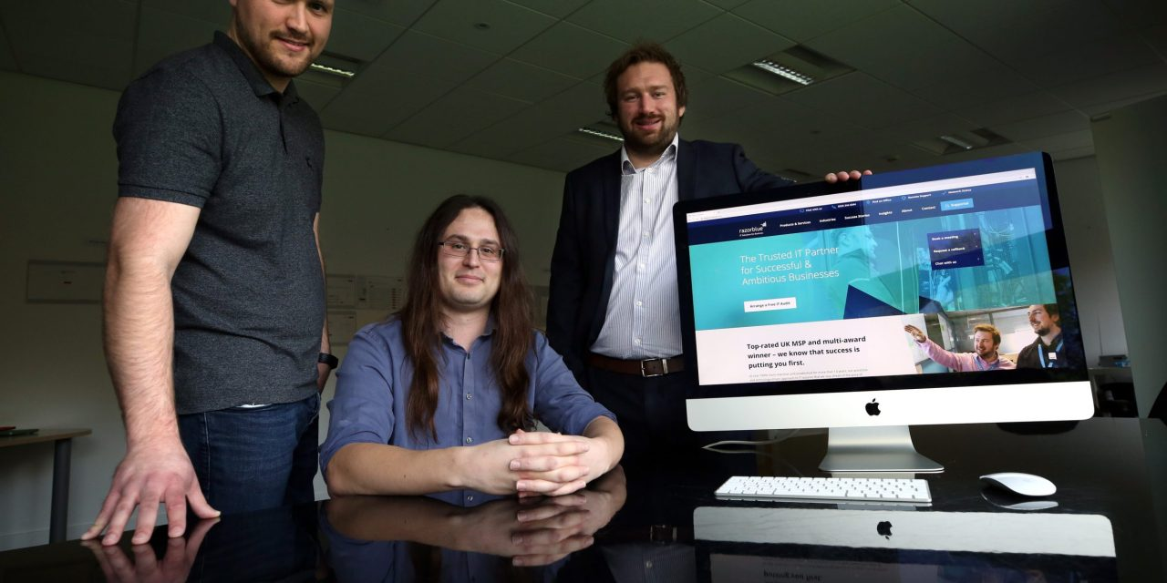 IT company plans for continued growth with launch of new website