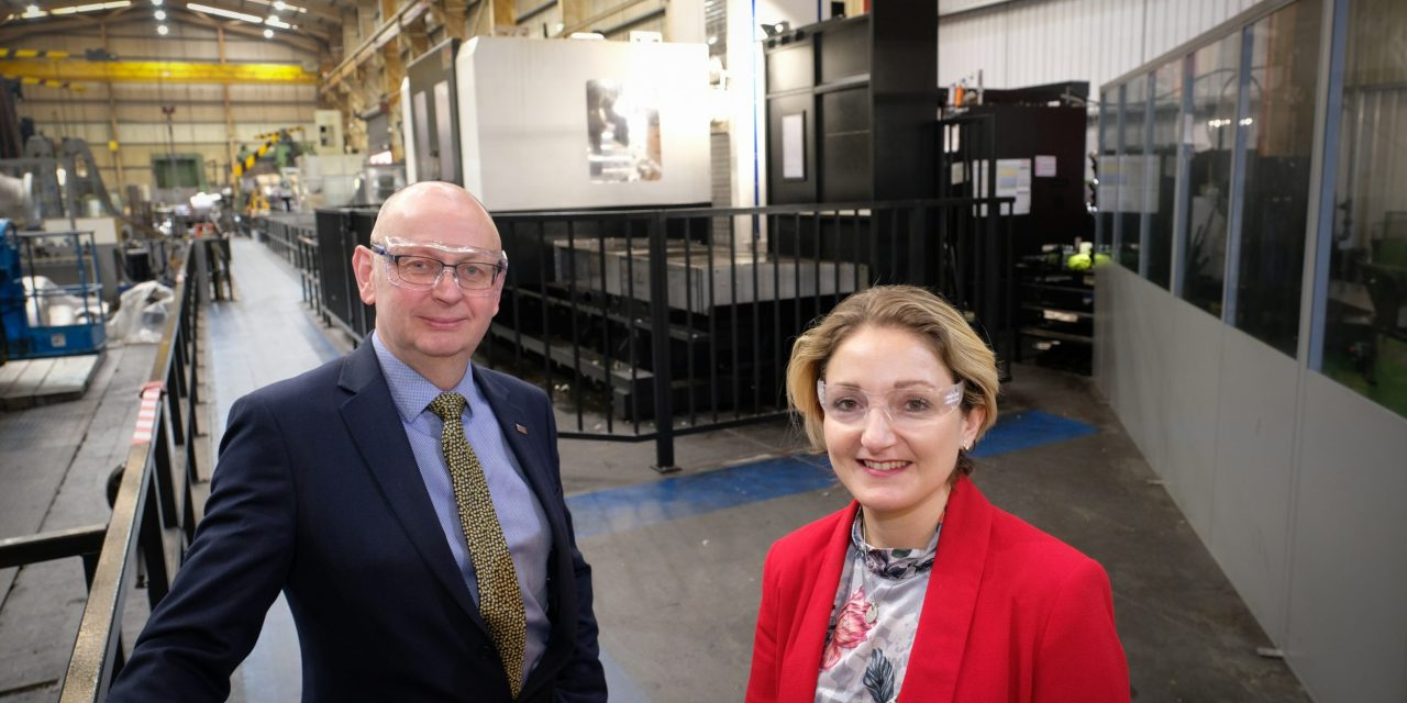 Tees Components invests in second £500,000 CNC boring mill