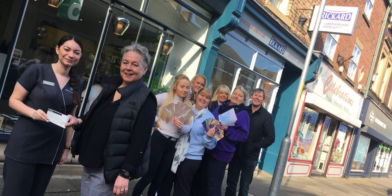 Blyth retailers come together to raise money for mental health and learning disability charity