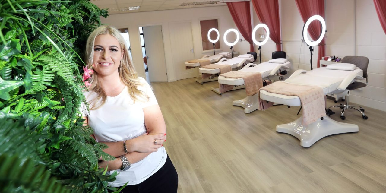 Young entrepreneur opens her own beauty salon and training academy