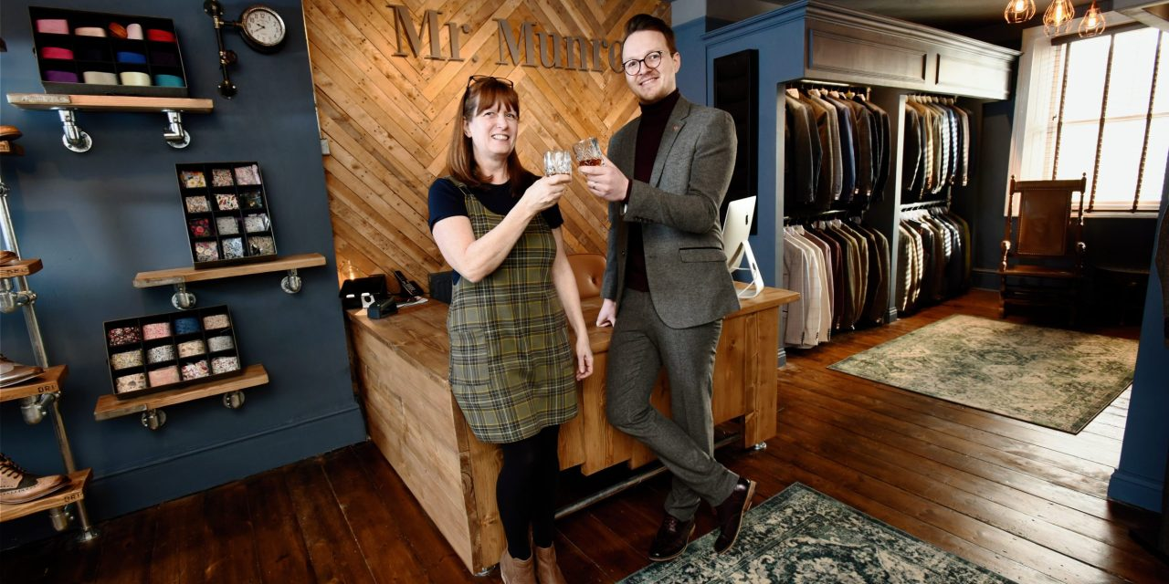 Newcastle fashion house set for major growth in its walk-in menswear business