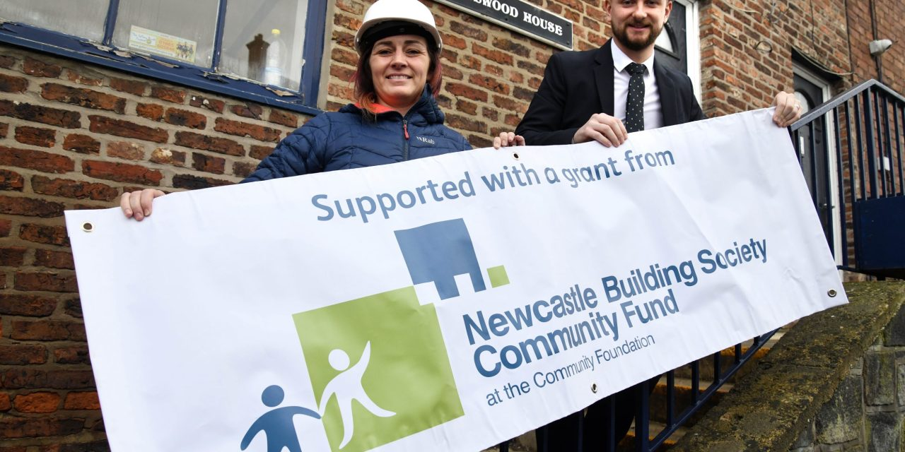 Northumberland charity upgrades facilities thanks to a five-figure grant from NBS