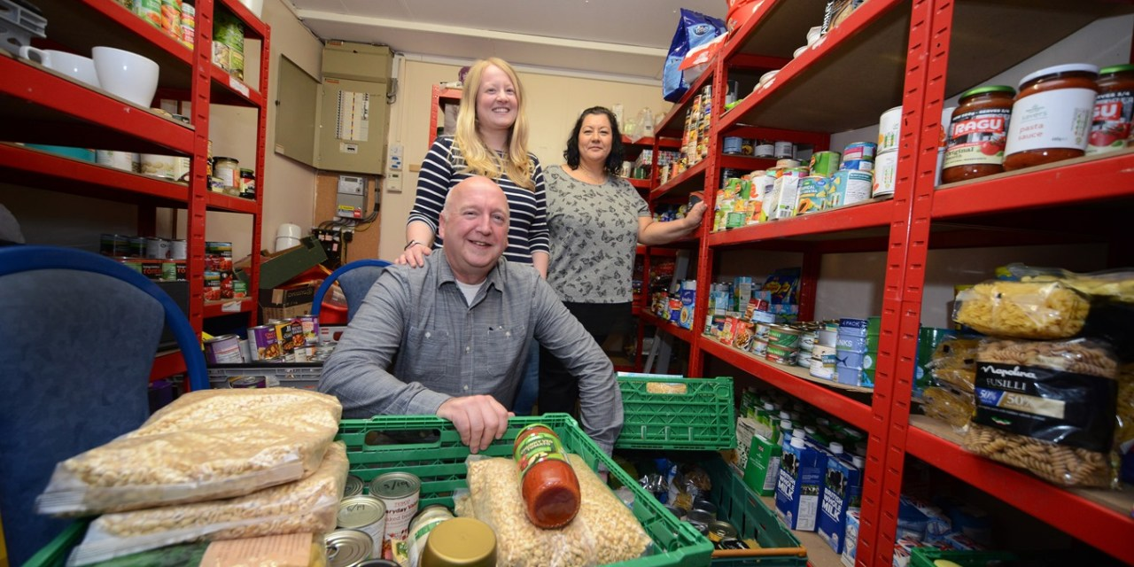 Newcastle foodbank increases support to local families thanks to four figure NBS grant