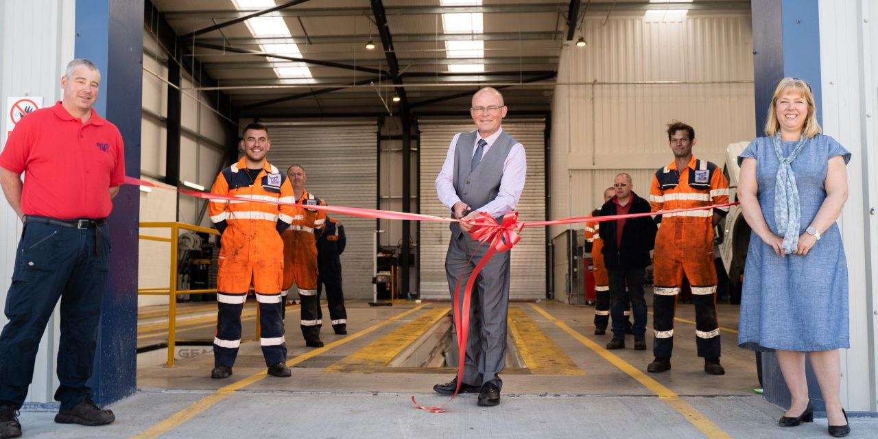 Blyth Valley MP officially opens £500,000 repair and service centre