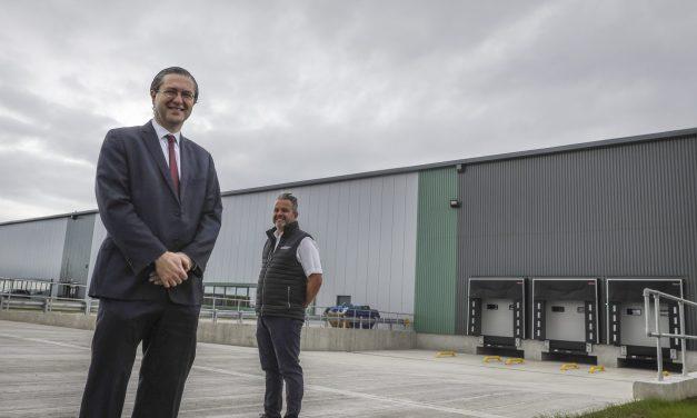 Japanese company prepares for growth as it becomes first tenant of new business park