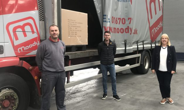 Moody Logistics helps deliver on demand for inflatable hot tubs