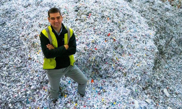 Increase in demand for shredding signals office return
