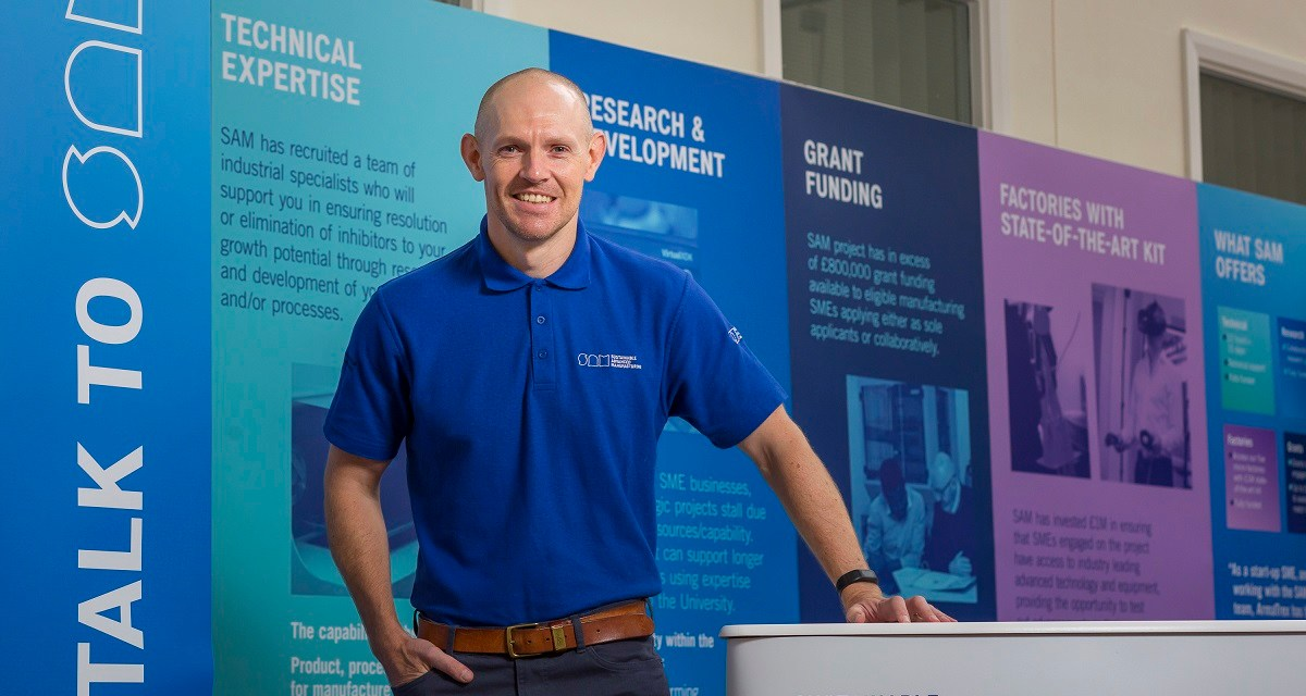 Multimillion-pound cash boost for businesses thanks to University of Sunderland project