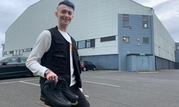 Talented Northumberland skater is as ice cool as he launches his own entertainment company