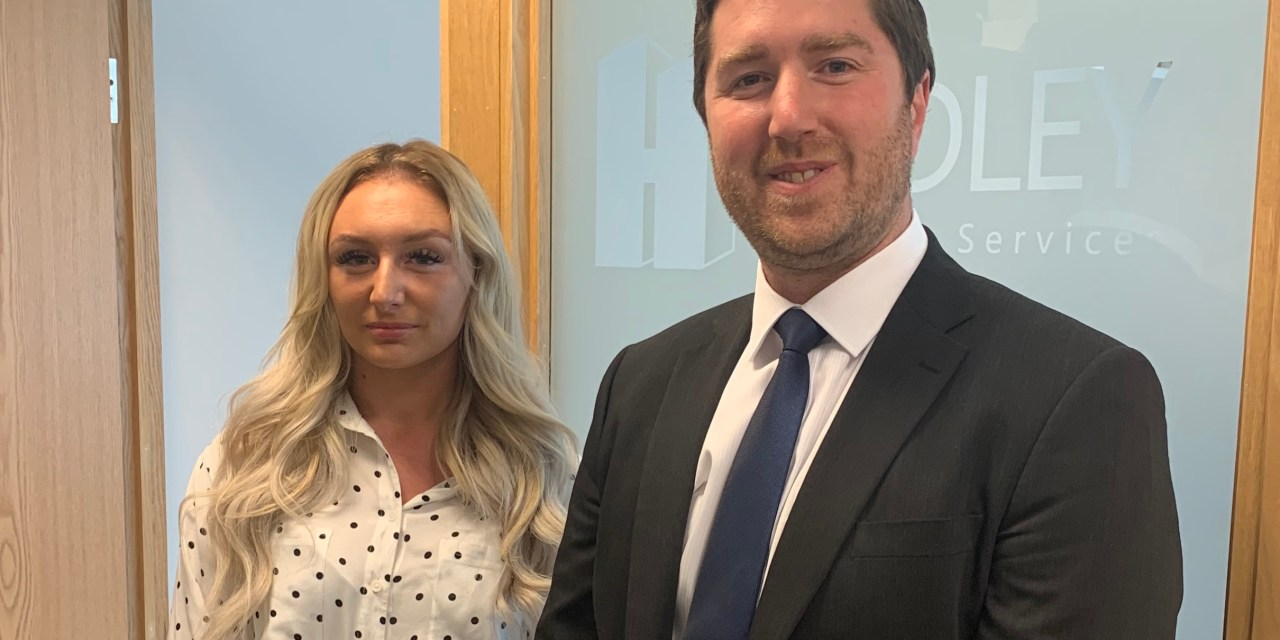 Planning company appoints first apprentice to support growth