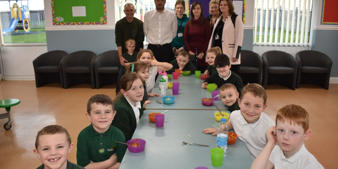 Durham City youngsters put their stamp on community centre after securing four-figure grant