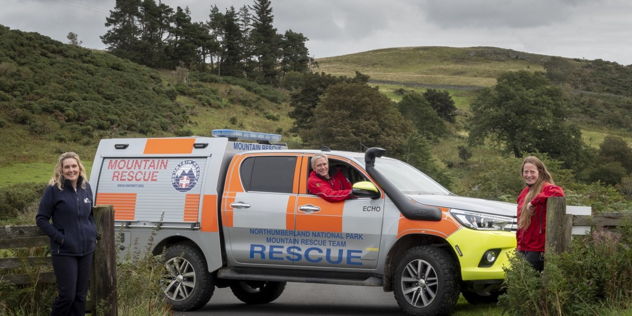 Mountain rescue volunteers ready to hit the roads thanks to a four-figure NBS grant
