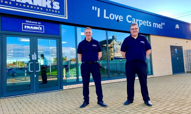 Franks the Flooring Store opens 30th store in Northumberland market town
