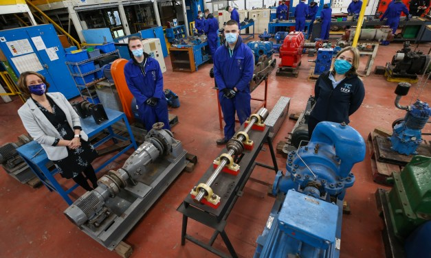 Middlesbrough College and TTE Technical announce focus on skills and training for green economy