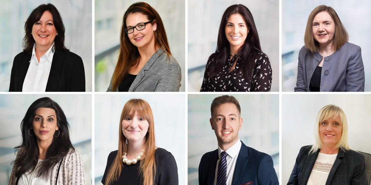 Eight new promotions at North East law firm