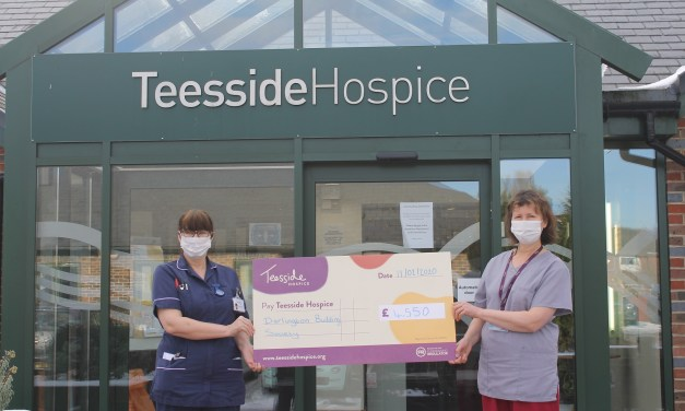 Hospice patients made more comfortable thanks to £4,550 building society donation