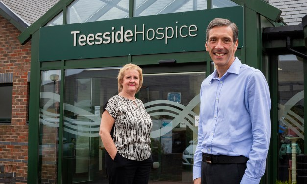 Insurance broker Erimus continues support of Teesside Hospice
