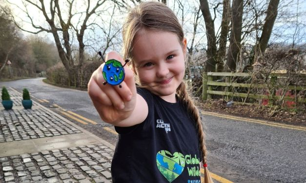 Seven-year-old Global Wilder Loralai designs badge of climate action