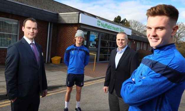 Hartlepool United sign sponsorship deal with Nuffield Health Tees Hospital