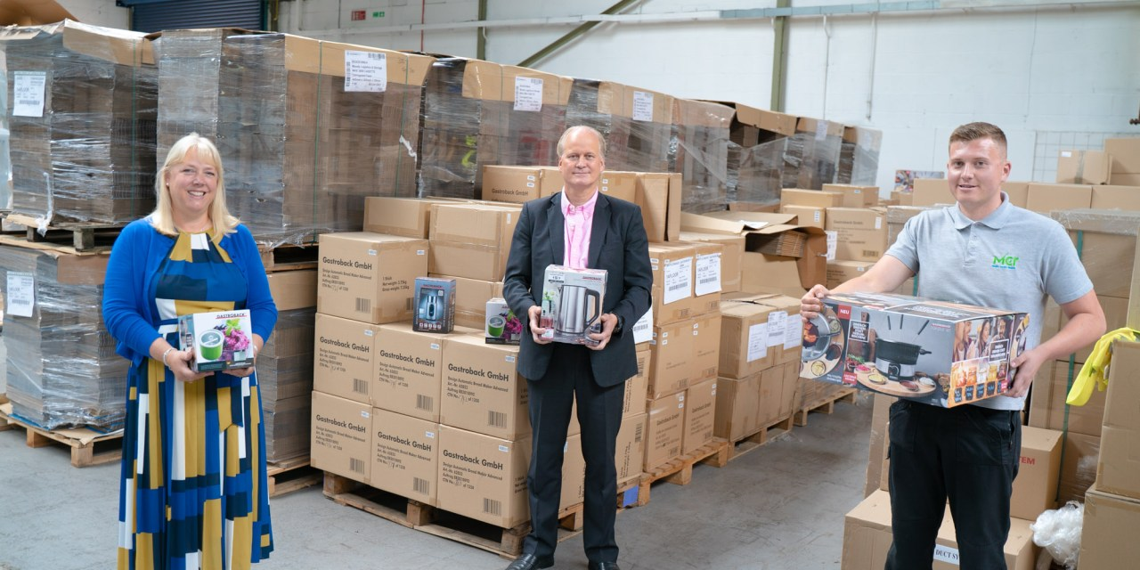 Moody Logistics supports UK launch of German home appliance brand Gastroback