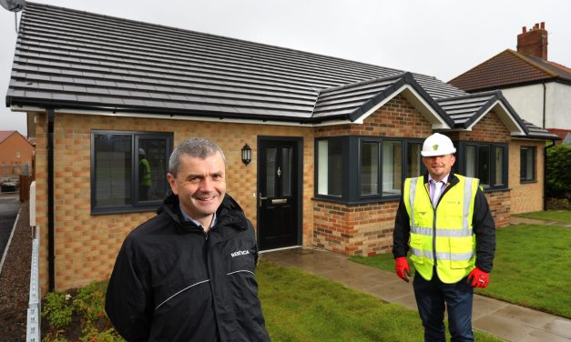 New bungalows complete in £9.4m Northumberland development