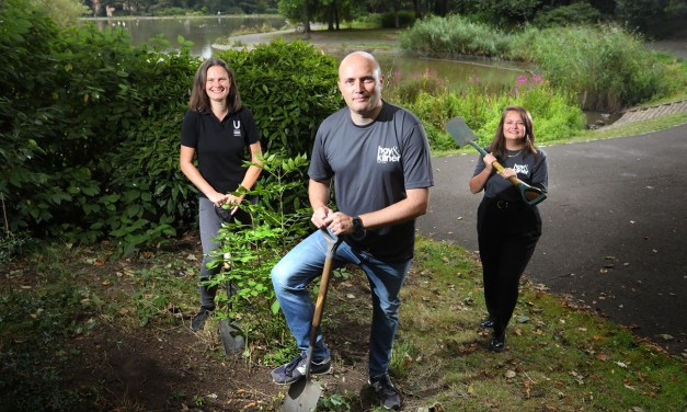 Law firm plants itself in the heart of the community with environmental charity partnership