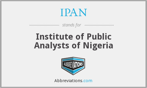 Image result for Public Analysts of Nigeria