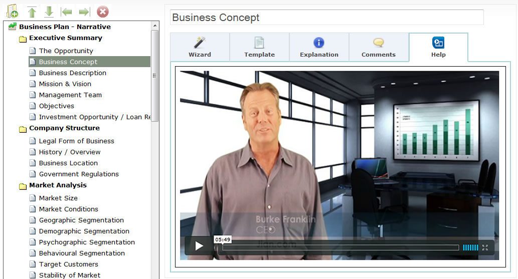 video how to write a business plan software template online cloud app to raise capital