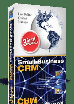 Online contacts, deals & project management system