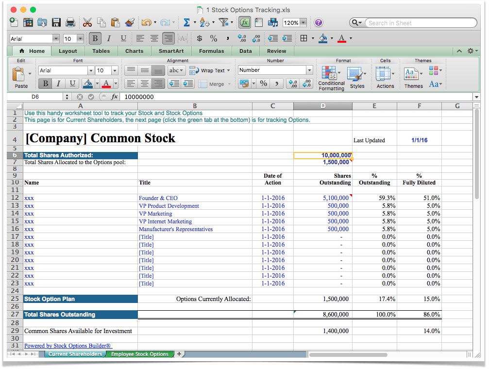 Stock options plan romania