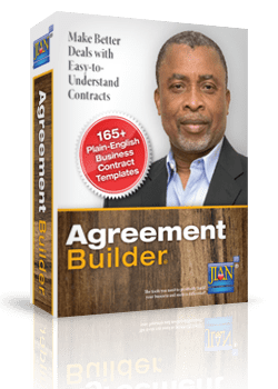 JIAN Agreement Builder sample legal business contract templates