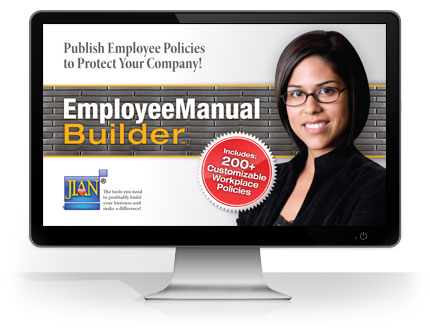Employee Manual Builder HR polices & procedures handbook software template